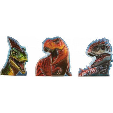 12 Pack Jurassic World Finger Puppet Favor - The Base Warehouse