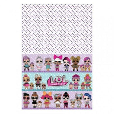 LOL Surprise Paper Tablecover - 137cm x 243cm - The Base Warehouse