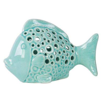 Beira Blue Marble Fish - 19cm x 12cm - The Base Warehouse