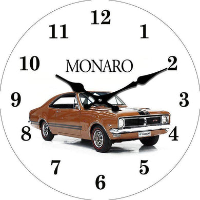 Round Monaro Clock - 30cm - The Base Warehouse