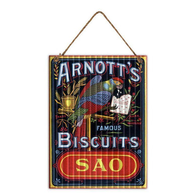 Arnotts SAO Plaque Sign - 30cm x 40cm - The Base Warehouse