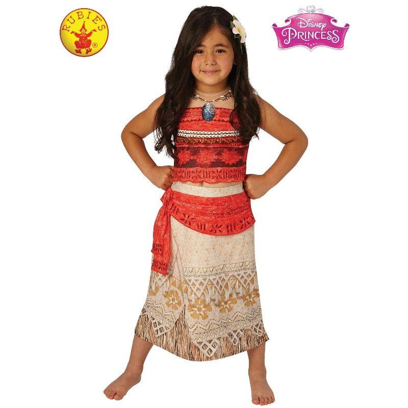 Girls Moana Deluxe Costume - L