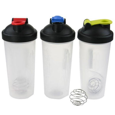 Shaker Bottle with Stainless Steel Ball - 600ml - The Base Warehouse