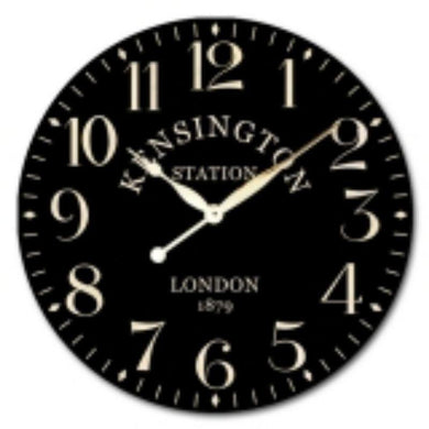 Kensington Station Clock - 60cm - The Base Warehouse