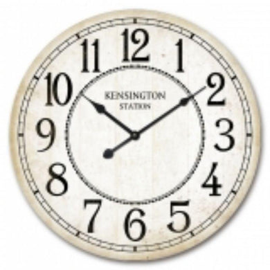 MDF Kensington Station Wall Clock - 60cm - The Base Warehouse