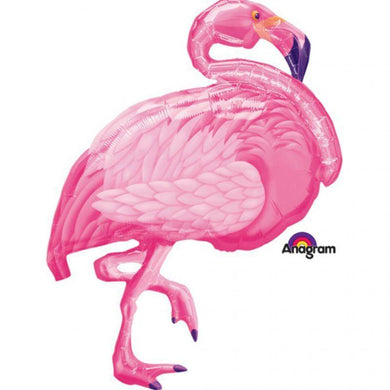 Flamingo Foil Balloon - 69cm x 89cm - The Base Warehouse