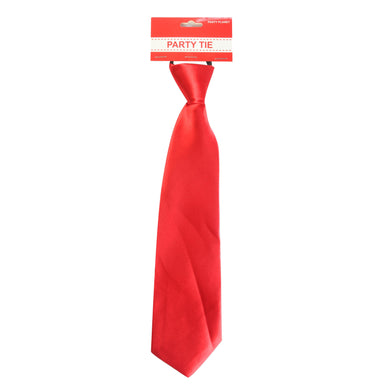Red Party Tie - The Base Warehouse