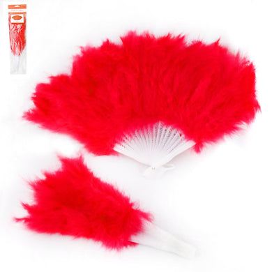 Red Feather Fan - The Base Warehouse