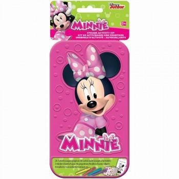 Minnie Mouse Sticker Sticker Activity Kit with Plastic Case - The Base Warehouse
