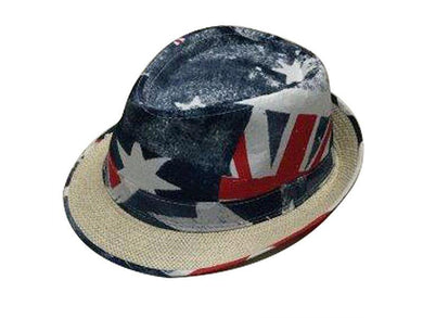 Aussie Flag Design Fedora - The Base Warehouse