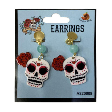 Day of the Dead Earrings - The Base Warehouse
