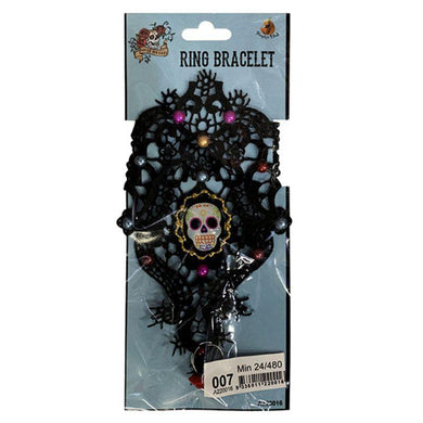 Day of the Dead Ring Bracelet - The Base Warehouse