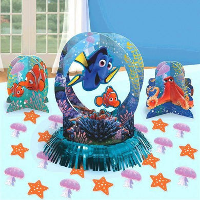 Finding Dory Table Decorating Kit - 1 x 31cm Centrepiece - 2 x 18cm Centrepieces - Confetti - The Base Warehouse