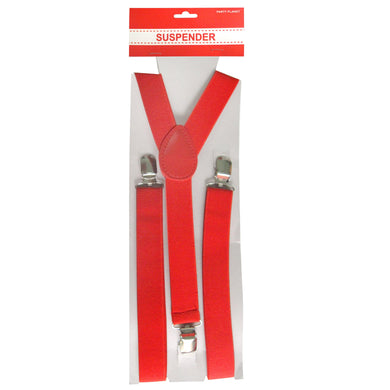 Red Suspender - The Base Warehouse