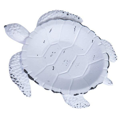 White Pewter Turtle Trinket Holder - The Base Warehouse