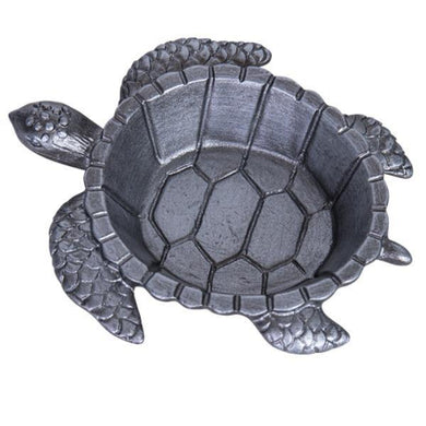 Deep Silver Pewter Turtle Trinket Holder - The Base Warehouse
