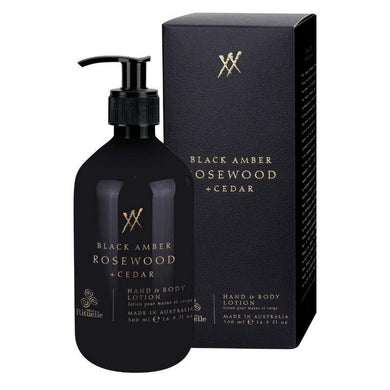 Alchemy - Black Amber, Rosewood & Cedar Hand & Body Lotion - 500ml - The Base Warehouse