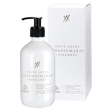 Alchemy - White Lotus, Geranium Leaf & Bergamot Hand & Body Lotion - 500ml - The Base Warehouse