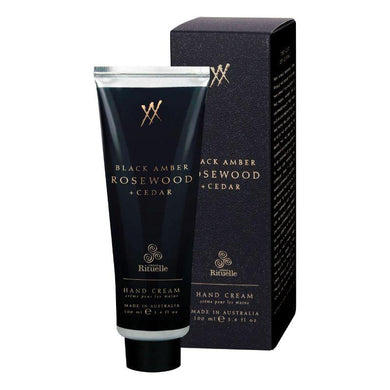 Alchemy - Black Amber, Rosewood & Cedar Hand Cream - 100ml - The Base Warehouse