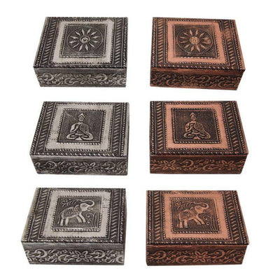 MDF Celtic Box - 10cm x 7.5cm - The Base Warehouse