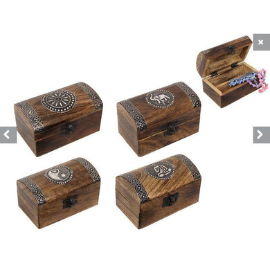 Wooden er Box - 13cm x 8cm - The Base Warehouse