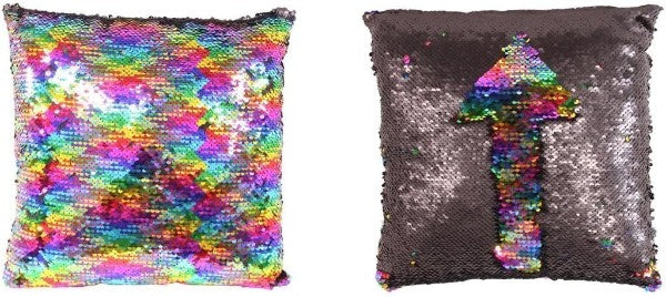 Sequin Rainbow Cushion