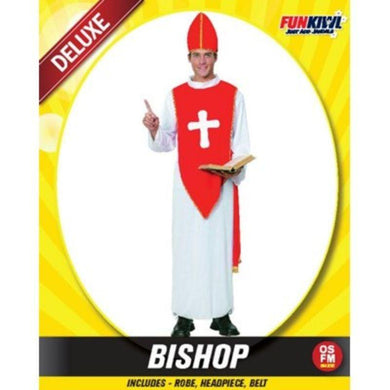 Mens Deluxe Bishop Costume - The Base Warehouse
