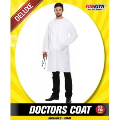 Mens Deluxe Doctors Coat - The Base Warehouse