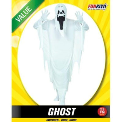 Mens Value Ghost Costume - The Base Warehouse