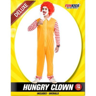 Mens Deluxe Hungry Clown Costume - The Base Warehouse
