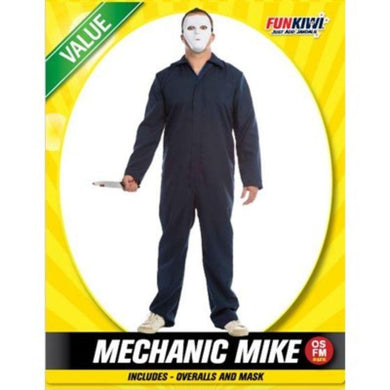 Mens Value Mechanic Mike Costume - The Base Warehouse
