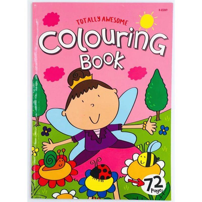 Girl Orientated Series Jumbo Colouring Book #2 - 29.5cm x 21cm