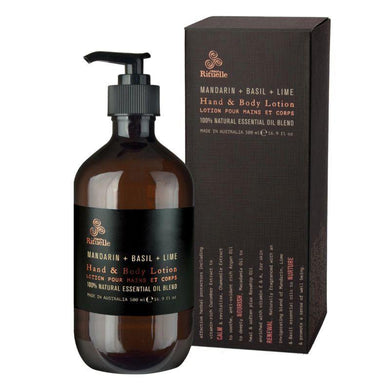 Equilibrium - Mandarin, Basil & Lime Hand & Body Lotion - 500ml - The Base Warehouse