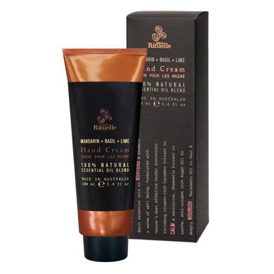 Equilibrium - Mandarin, Basil & Lime Hand Cream - 100ml - The Base Warehouse