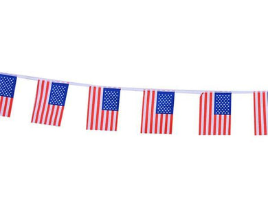 USA Flag Bunting - The Base Warehouse