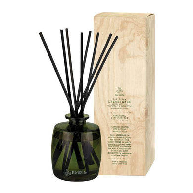 Flourish Organics - Lemongrass, Lemon Myrtle, Grapefruit & Eucalyptus Diffuser - 200ml - The Base Warehouse
