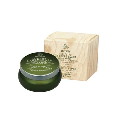 Flourish Organics - Lemongrass, Lemon Myrtle, Grapefruit & Eucalyptus Lip Balm - 20g - The Base Warehouse