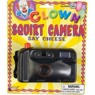 Prank Clown Squirt Camera - The Base Warehouse