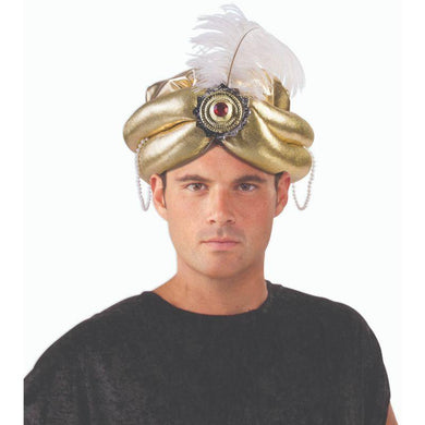 Mens Gold Desert Prince Hat - The Base Warehouse