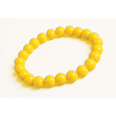 Yellow Big Pearls Bracelet - The Base Warehouse