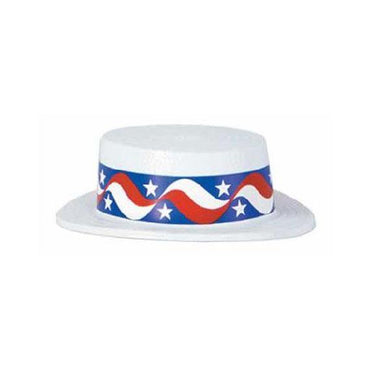 American Hat Skimmer with Star Band - The Base Warehouse