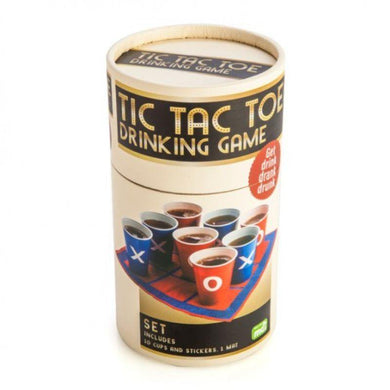 Tic Tac Toe Drinking Cup Game - 16.5cm - The Base Warehouse