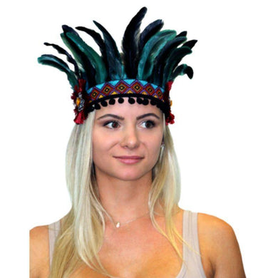 Womens Festival Headpiece - Aztec - The Base Warehouse