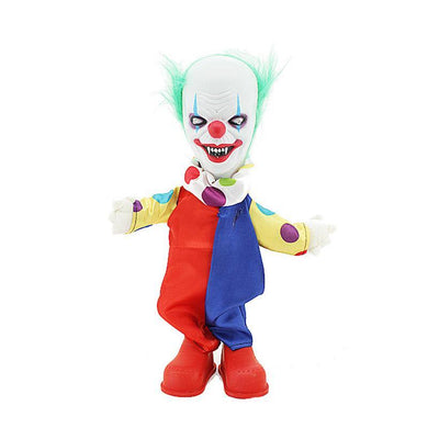 Standing Creepy Animated Clown Halloween Prop - The Base Warehouse