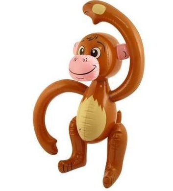 Inflatable Monkey - 58cm - The Base Warehouse