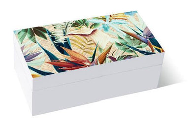 Paradise Floral Keepsake Box - The Base Warehouse
