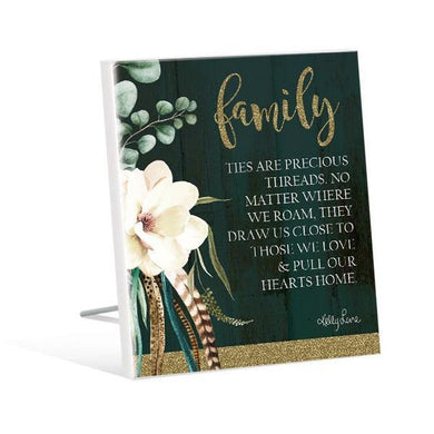 Boho Luxe Family Sentiment Plaque - The Base Warehouse