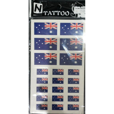 Aussie Flag Tattoo Set - The Base Warehouse