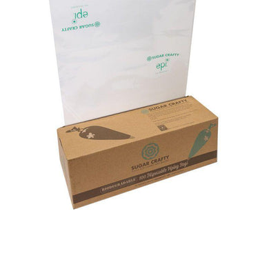 100 Pack Biodegradable Piping Icing Bags - 45cm - The Base Warehouse