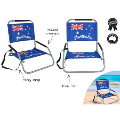 Australian Foldable Beach Chair - The Base Warehouse